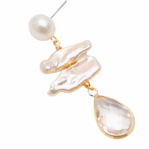 Pearls with Crystal Droplet