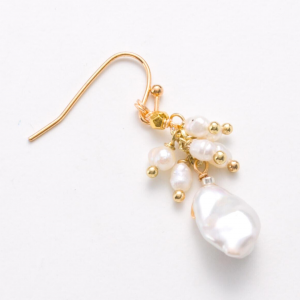 pearl droplet with beads product image